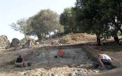 L'area di scavo 8000