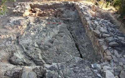 Fig.8. L'edificio coincidente con l'Area 9500 al termine dello scavo.