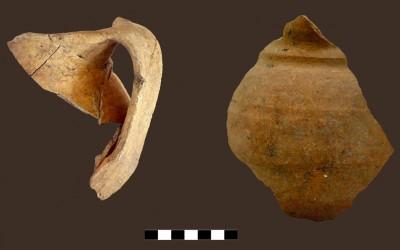 Fig. a. Brocche in ceramica depurata e priva di rivestimento dai contesti signorili di fine X-XI secolo.
