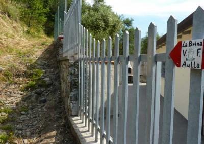fig.1. Il sentiero segnato dal CAI di Sarzana lungo il tracciato attuale della Francigena che porta alla Brina.